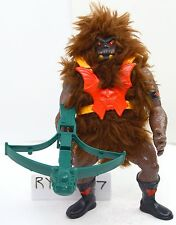 MOTU, Dark Face Grizzlor, Masters of the Universe, figure, complete, black