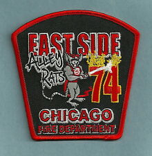CHICAGO FIRE DEPARTMENT ENGINE COMPANY 74 PATCH