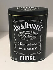JACK DANIELS EMPTY COLLECTABLE FUDGE TIN