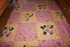 Disney Bettwäsche bedding Micky Maus vintage Mickey Minnie in love  80s 90s