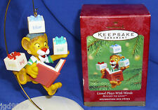 Hallmark Ornament Lionel Plays with Words 2001 PBS Kids Between the Lions NIB