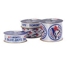 TORONTO BLUE JAYS RIBBON-BLUE JAYS CRAFTING RIBBON-4 PACK-15 YDS TOTAL