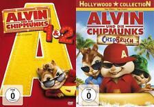 Alvin und die Chipmunks - Teil 1,2 und 3  - 3 DVD´s - Neu u. OVP