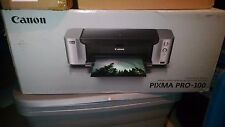 Canon PIXMA PRO-100 Professional Photo Inkjet Printer with 50 Sheet SG-201 13x19