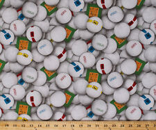 Cotton Sports Volleyball Balls Spike Serve Fabric Print by the Yard D667.48