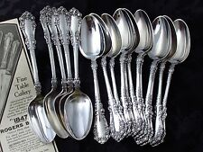 "BERKSHIRE 1847 ROGERS NOUVEAU c.1897 PLACE OVAL SOUP SPOON 7 ¼"" UP TO 12+ AVAIL"