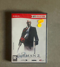 NEW SEALED PC GAME HITMAN 2 SILENT ASSASSIN VF VERSION (FREE SHIPPING WORLDWIDE)