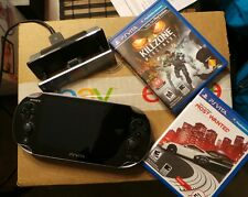 PS Vita PCH-1001 PlayStation Vita Console and Extras. NO RESERVE!!