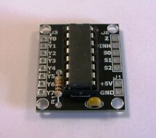 RKmux1 8 Channel 4051 Multiplexer/Demultiplexer Great for Raspberry PI & Arduino