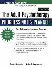 The Adult Psychotherapy Progress Notes Planner (PracticePlanners), Berghuis, Dav
