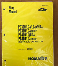 Komatsu Service PC300LC-5, PC400-LC-5, PC300LC-5 Manual Shop
