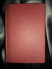 1956 RARE BOOK ~ Electricity And Magnetism by C. W. Kearsey, M.A. + Illustrated