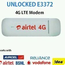 AIRTEL 4G UNLOCKED E3372 150 Mbps 4G/3G/2G HlLINK USB MODEM/DATACARD