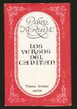 Pablo Neruda Mini Book Los Versos Del Capitan 1977