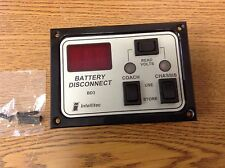 INTELLITEC BD3 BLACK AND SILVER RV BATTERY DISCONNECT PANEL 0100066007
