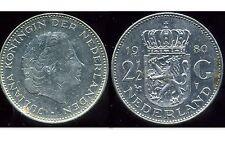 PAYS BAS 2 1/2 gulden 1980  ( it )