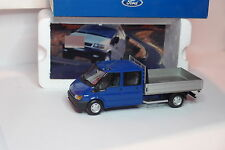 MINICHAMPS FORD TRANSIT BENNE DOUBLE CABINE 1/43
