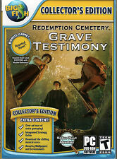REDEMPTION CEMETERY GRAVE TESTIMONY Hidden Object 2 PACK PC Game DVD NEW + Bonus