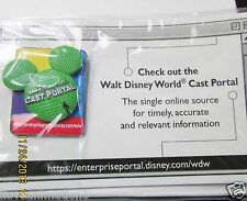 Disney WDW Cast Portal on Card Pin