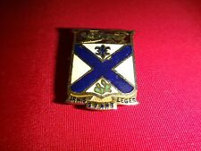 "Metal Badge US Army 169th INFANTRY ""Armis Stant Leges"" Distinctive Unit Insignia"