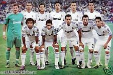 "REAL MADRID CF ""2011 PLAYERS ON PITCH"" POSTER-Cristiano Ronaldo,Xabi Alonso,Kaka"
