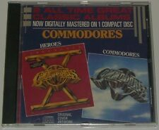 CD - Commodores - Commodores + Heroes ( Motown ) 2 All Time Great Classic Albums