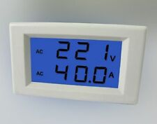 AC 300V 50A Current Volt Combo Meter Need Power With CT Inverter Alternator MZ