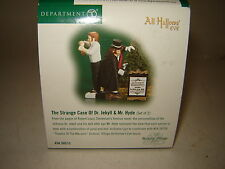 Dept 56 Dickens Village - The Strange Case of Dr. Jekyll & Mr. Hyde - 2 Pc - NIB