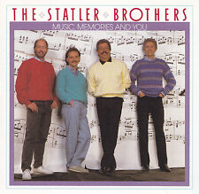 THE STATLER BROTHERS - CD - MUSIC,MEMORIES AND YOU