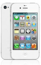 NEW APPLE IPHONE 4S - 16GB - WHITE (UNLOCKED) IOS9 SMARTPHONE + FREE GIFTS