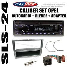 OPEL ASTRA CORSA VECTRA AGILA COMBO autoradio ISO adattatore pannello radio Antracite