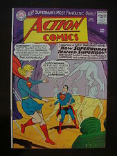 Action #332 G+ Superwoman Trained Superboy