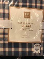 Pottery Barn Teen PARKER PLAID Standard PILLOW SHAM NEW
