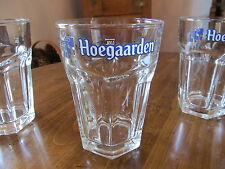 HOEGAARDEN 0.33L HEXAGONAL BELGIUM BEER GLASS