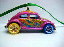 Old School VW Volkswagen Beetle Bug Car Christmas Ornament