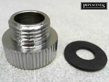 """3/4"""" to 1/2"""" Chrome Shower Hose Adaptor Bush Reducer 25mm to 21mm Old to New"""