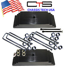 """Chassis Tech 99-04 FORD F250 Only 4WD 2.0"""" Front Leveling lift kit Square Ubolts"""