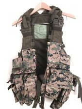 Tactical Military Digital Design woodland camouflage/hydration vest...NEW!