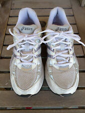 Asics Gel Saga Silver/white/pink Running Shoes Women's 8