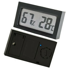Mini Digital Display Indoor Temperature Humidity Thermometer Hygrometer Meter