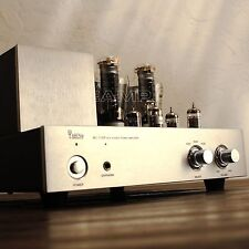 YAQIN MC-350B 300B 20W Vacuum Valve Tube Hi-End Integrated Amplifier 110-240v U