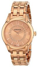 """Versace Women's VFF040013 """"Dafne"""" Rose Gold Ion-Plated Stainless Steel  Watch"""