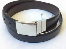 NWT $99 COLE HAAN 30MM REVERSIBLE LEATHER BROWN BLACK GOLF BELT MENS SIZE 38