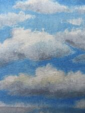 RPA105 Clouds Sky Sunshine Clouds Blue Sky Cotton Fabric Quilt Fabric