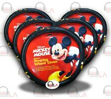 Mickey Mouse Donald Duck Goofy Steering Wheel Cover - LOT OF 5