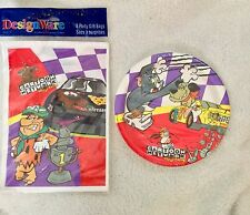 Cartoon Network Wacky Racing Plates and Party Gift Bags