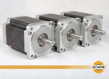 DE/US free!3PCS Nema34 Stepper Motor,34HS1456(B),116mm,8.4NM,5.6ACNC machine