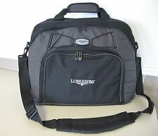 LONGINES WATCH Advertising Computer size business Bag Black Grey shoulder NEW