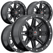 "4) 14"" RIMS WHEELS for 2009-2014 Honda TRX 500 Rancher AT IRS Type 550 ATV"