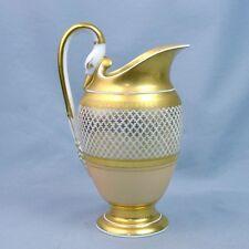 Paris Pot A Lait Porcelaine Début 19ème Croisillons Or